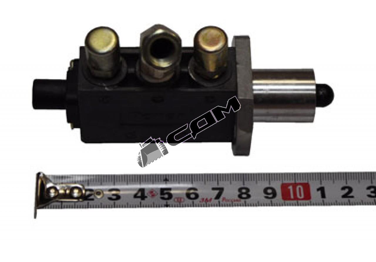 Клапан КПП (3+2 отв. под трубки)  HOWO F99660